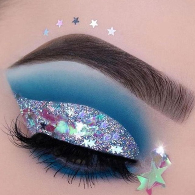 Ball Eye Makeup Festival Body Glitter Eye Makeup Highlighter Sequin Cream Gel Hair