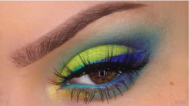 Bright Color Eye Makeup 9 Fun Colorful Eyeshadow Tutorials For Makeup Lovers
