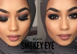 Cool Black Eye Makeup Black Smokey Eye Makeup Tutorial Youtube