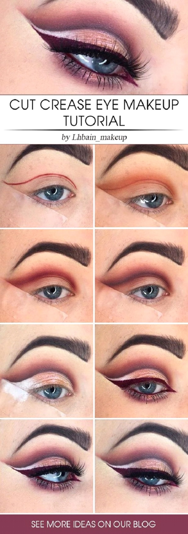 Cut Crease Eye Makeup Cut Crease Eye Makeup Tutorial Makeup Mania