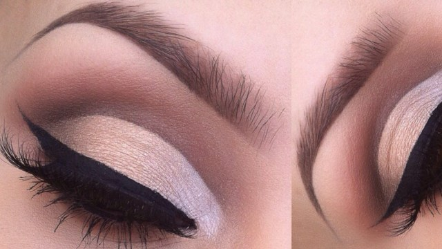 Cut Crease Eye Makeup How To Cut Crease Eyeshadow Tutorial