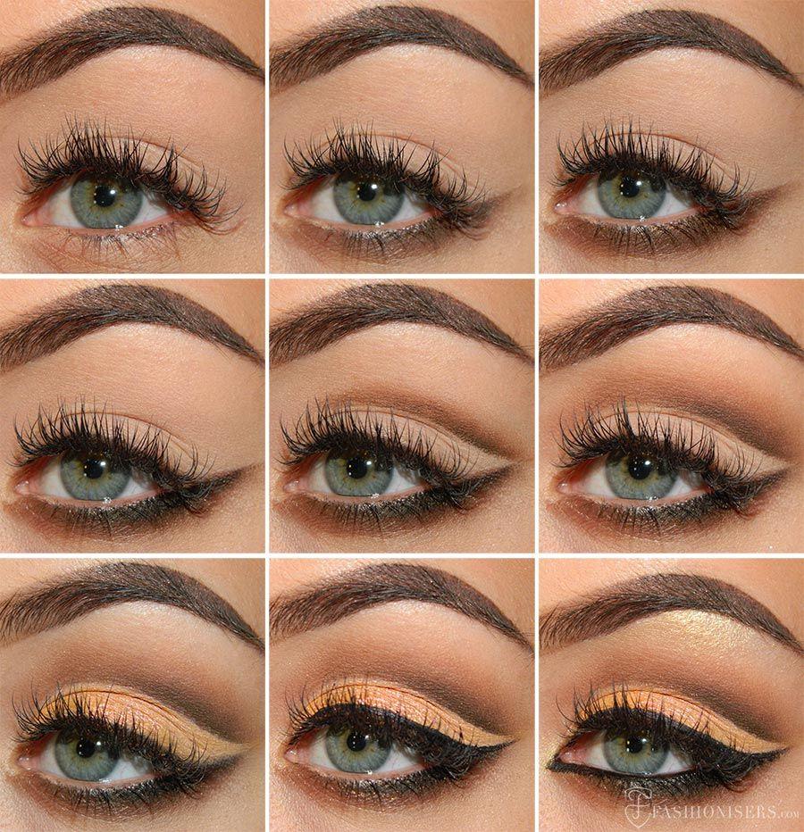 Cut Crease Eye Makeup Mellow Brown Cut Crease Eye Makeup Tutorial Eye Makeup Cut