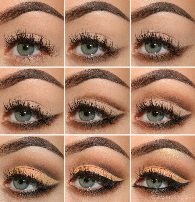 Cut Crease Eye Makeup Mellow Brown Cut Crease Eye Makeup Tutorial Eye Makeup Cut