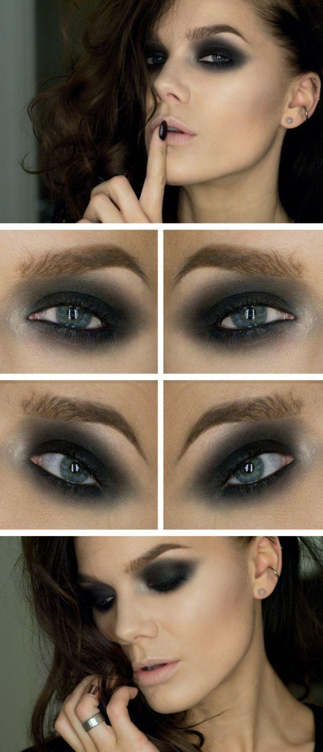 Dark Eyes Makeup Dark Eye Makeup 2751322 Weddbook