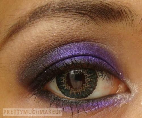 Deep Purple Eye Makeup Deep Purple Eye Makeup Look Glam Radar