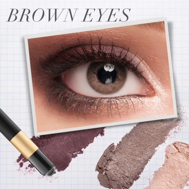 Eye Makeup For Brown Eyes Steps The Best Eye Makeup For Blue Green Brown Eyes Jane Iredale