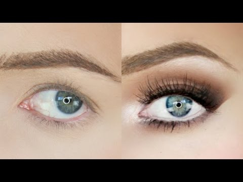 Eye Makeup For Small Eyelids Droopy Eyes Makeup Tutorial Stephanie Lange Youtube