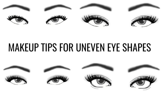 Eye Shapes For Makeup Uneven Eye Shape How To Apply Eye Makeup Themakeupchair