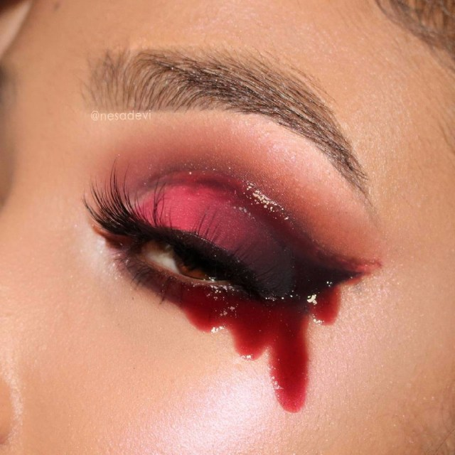 Halloween Eye Makeup Gory Halloween Eye Makeup Popsugar Beauty