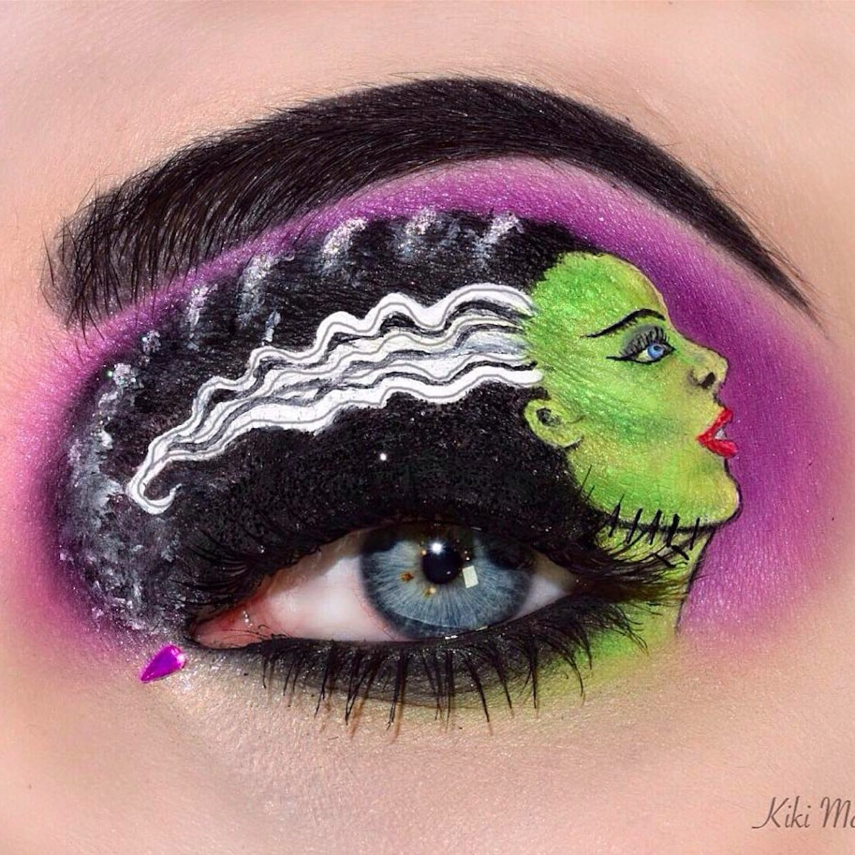 Halloween Eye Makeup Halloween Eye Art Makeup Popsugar Beauty