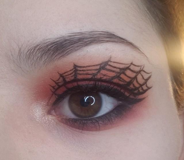Halloween Eye Makeup My Halloween Eye Makeup From Yesterday Ccw Sugarfreemua