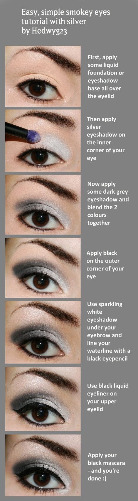How To Apply Eye Makeup With Pictures 23 Gorgeous Eye Makeup Tutorials Style Motivation
