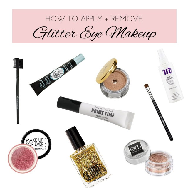 How To Apply Eye Makeup With Pictures Glitter Eye Makeup Tips Michelle Phan Michelle Phan