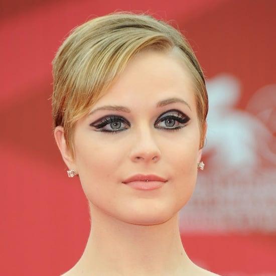 How To Do 60S Eye Makeup Evan Rachel Woods 60s Eye Makeup Popsugar Beauty