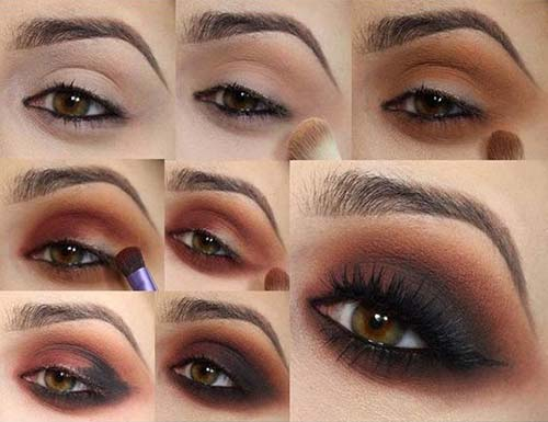 Light Brown Smokey Eye Makeup 25 Gorgeous Eye Makeup Tutorials For Beginners Of 2019