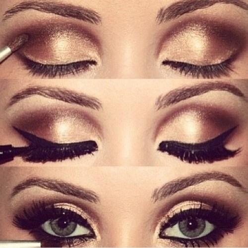 Light Brown Smokey Eye Makeup How To Do Brown Smokey Eye Makeup Stylewile