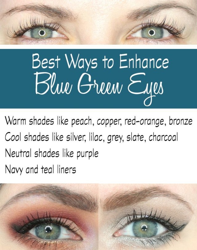 Makeup Colors For Blue Eyes Perfect Eye Shadow Combinations For Blue Eyes Fashion