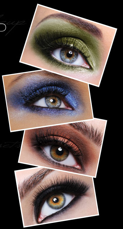 Makeup Colors For Blue Eyes Which Eye Makeup Colors To Wear For Green Hazel Blue And Brown Eyes