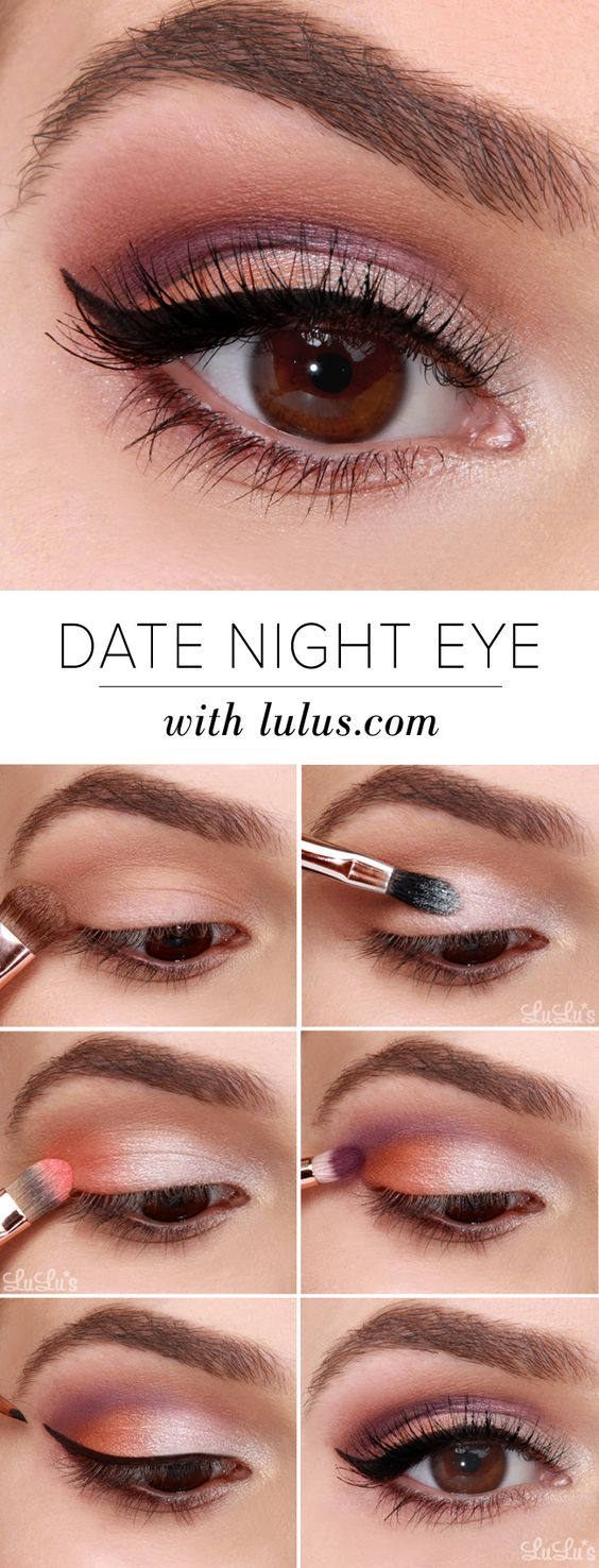 Makeup For Brown Eyes 10 Easy Step Step Makeup Tutorials For Brown Eyes