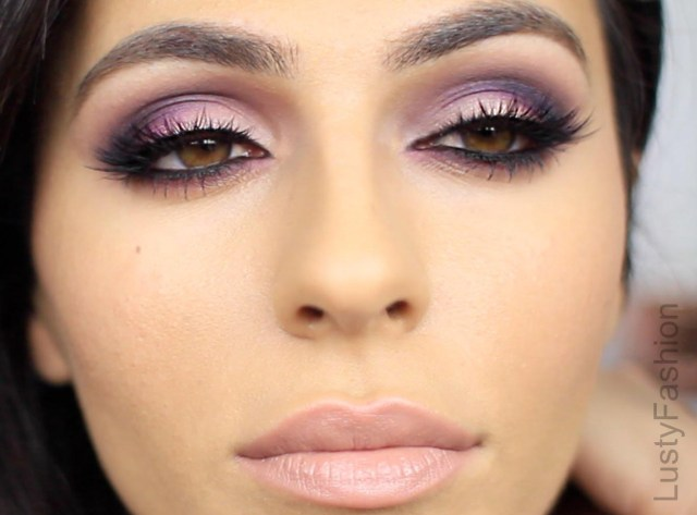 Makeup For Brown Eyes Purple Wedding Makeup For Brown Eyes 2017 Lustyfashion
