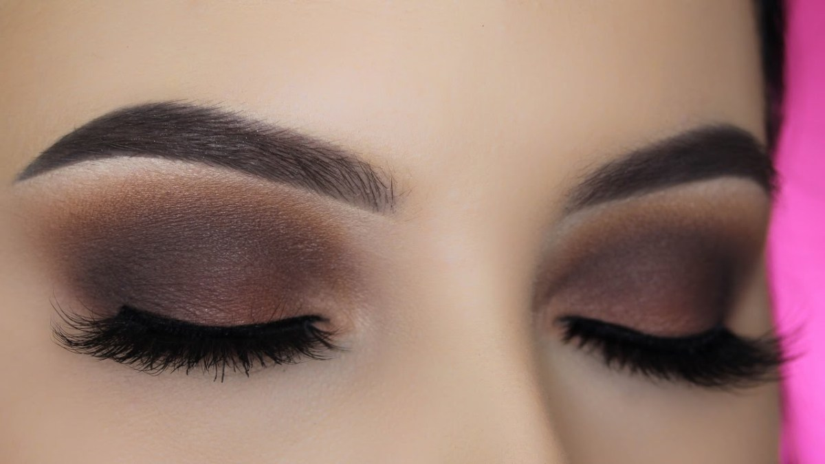 Makeup For Brown Eyes Smoked Out Brown Eye Makeup Tutorial Youtube
