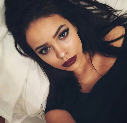 Makeup For Brunettes With Brown Eyes Beautiful Beauty Brown Brown Hair Brunette Clothes Eye Look