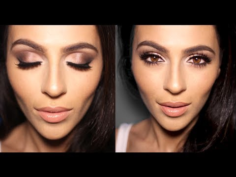 Makeup For Brunettes With Brown Eyes Neutral Smoky Eye Makeup Tutorial Eye Makeup Tutorial Teni