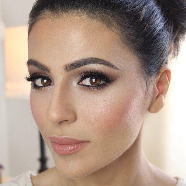 Makeup For Brunettes With Brown Eyes Wedding Makeup Looks For Brunettes With Brown Eyes Eye Makeup