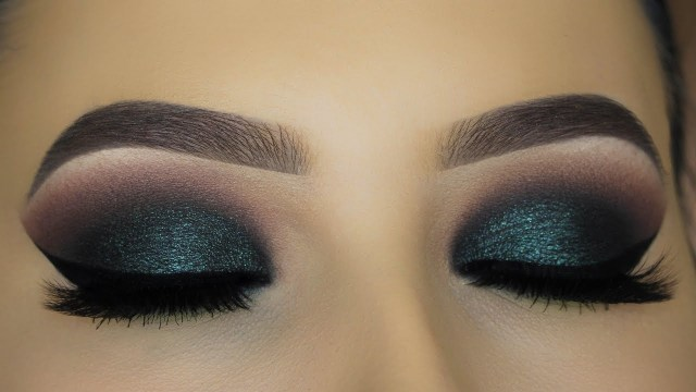 Makeup Smokey Eyes Intense Green Smokey Eyes Makeup Tutorial Youtube