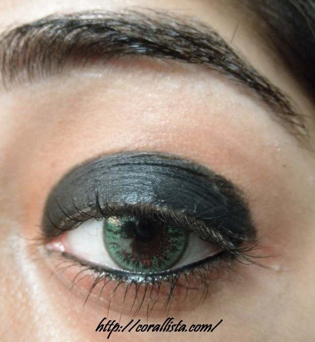 Makeup Smokey Eyes Metallic Copper Smokey Eye Makeup Step Step Photo Tutorial