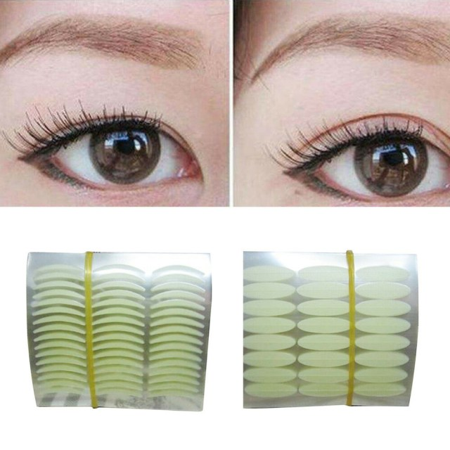 Makeup Tape Eyes 168 Pairs Eyelid Sticker Tape Technical Eye Tapes Makeup Beauty For