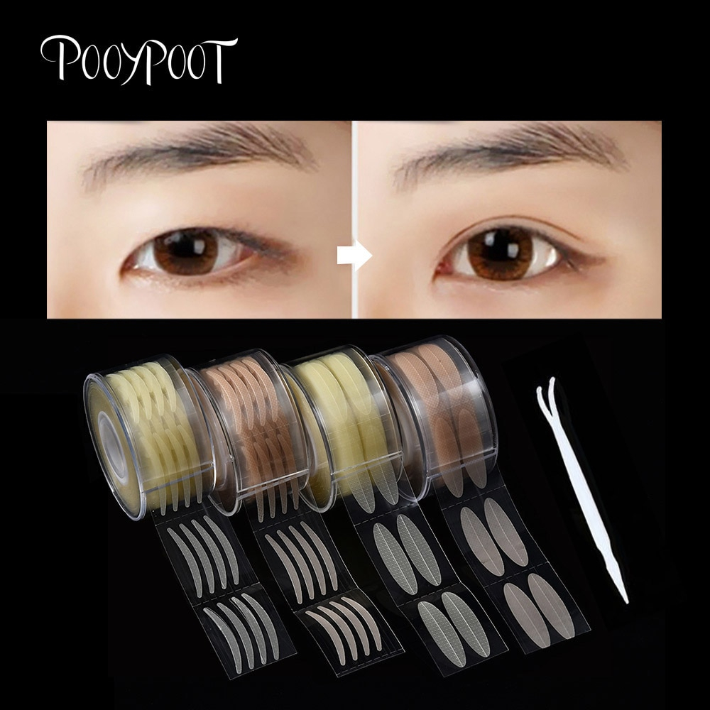 Makeup Tape Eyes Detail Feedback Questions About Pooypoot 600pcs Eyelid Tape Sticker
