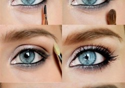 Makeup Tutorial For Blue Eyes Lovely Makeup Tutorials For Blue Eyes Vc Primps Makeup Eye