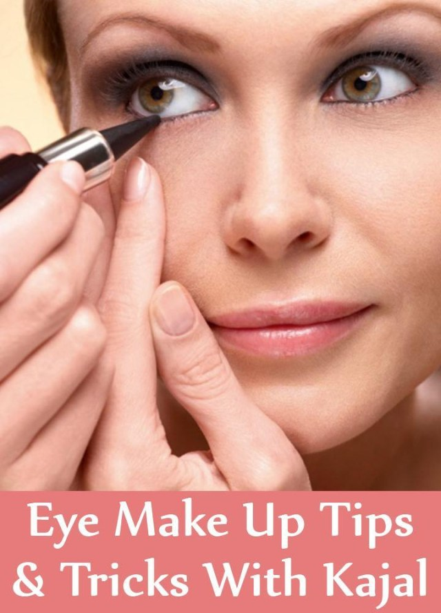 Most Attractive Eye Makeup Eye Make Up Tips And Tricks With Kajal Eye Makeup With Just A