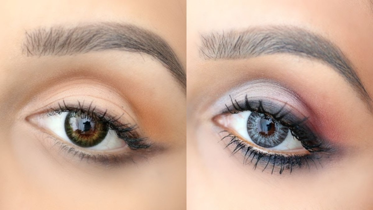 Natural Eye Makeup For Green Eyes Eye Makeup Tutorials For Green Sterling Gray Eyes Youtube