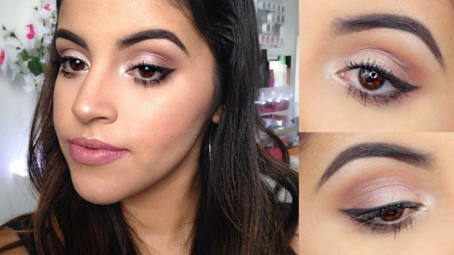 Perfect Makeup For Brown Eyes Makeup Tutorial For Brown Eyes For Beginners Youtube