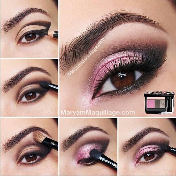 Pink And Silver Eye Makeup 14 Pretty Pink Smokey Eye Makeup Looks Pretty Designs