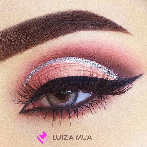 Pink And Silver Eye Makeup 18 Stunning Eye Shadow Looks For Gorgeous Grey Eyes My Stylish Zoo