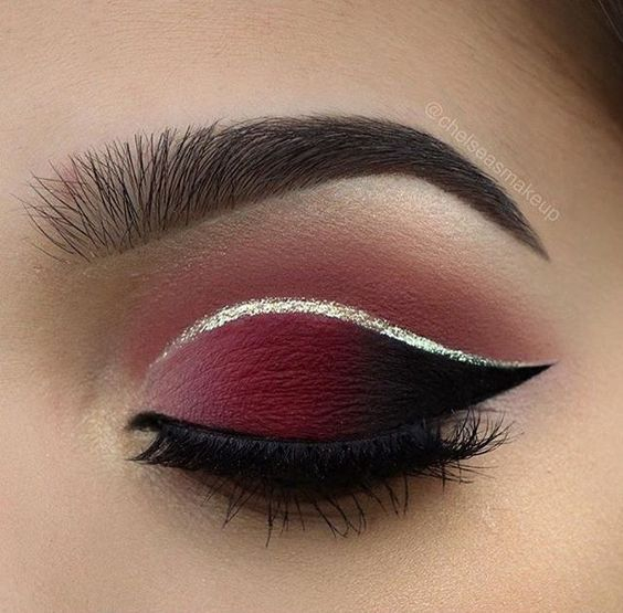 Pink And Silver Eye Makeup Makeup Double Tones With Silver Eye Makeup For Christmas Party Makeup