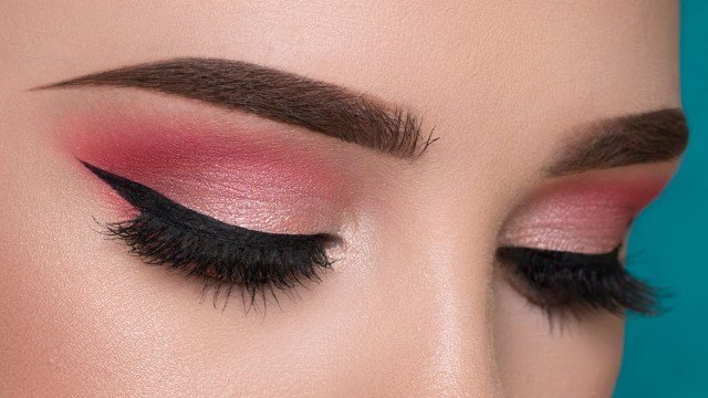 Pink Eye And Makeup Easy Pink Summertime Makeup Tutorial Youtube