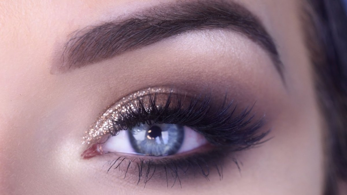 prom makeup tutorial for blue eyes easy prom eye makeup