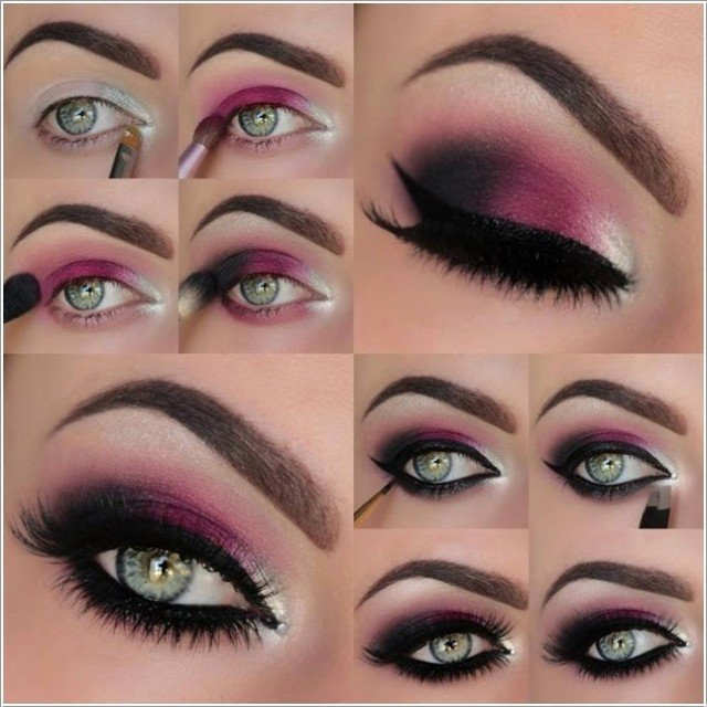 Purple And Gold Smokey Eye Makeup 13 Glamorous Smoky Eye Makeup Tutorials For Stunning Party Night