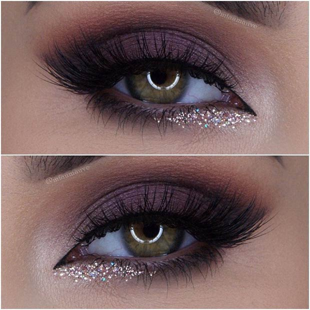 Purple And Gold Smokey Eye Makeup 40 Hottest Smokey Eye Makeup Ideas 2019 Smokey Eye Tutorials For