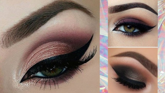 Shaded Eye Makeup Eye Makeup How To Apply Eye Shadow Eyeliner Mascara Step