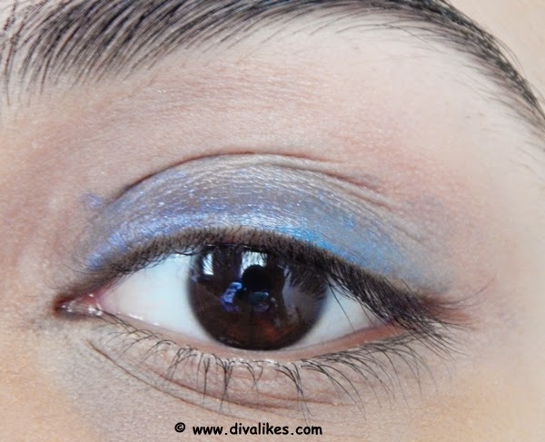 Socket Eye Makeup Stark Navy Blue Eye Makeup Tutorial Diva Likes