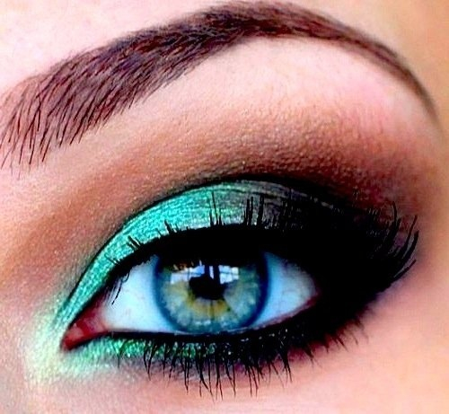 Teal Smokey Eye Makeup Teal Smokey Eye Makeup Hair And Other Lady Things