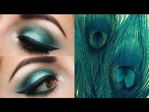 Teal Smokey Eye Makeup Teal Smokey Eye Youtube