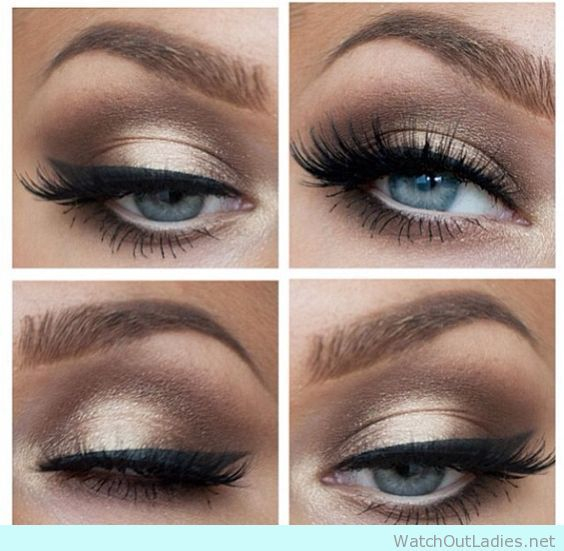 Wedding Makeup Blue Eyes Brown Hair Best Ideas For Makeup Tutorials Amazing Gold And Brown Makeup For
