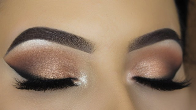 Winged Eye Makeup Classic Smoked Winged Liner Eye Makeup Tutorial Youtube