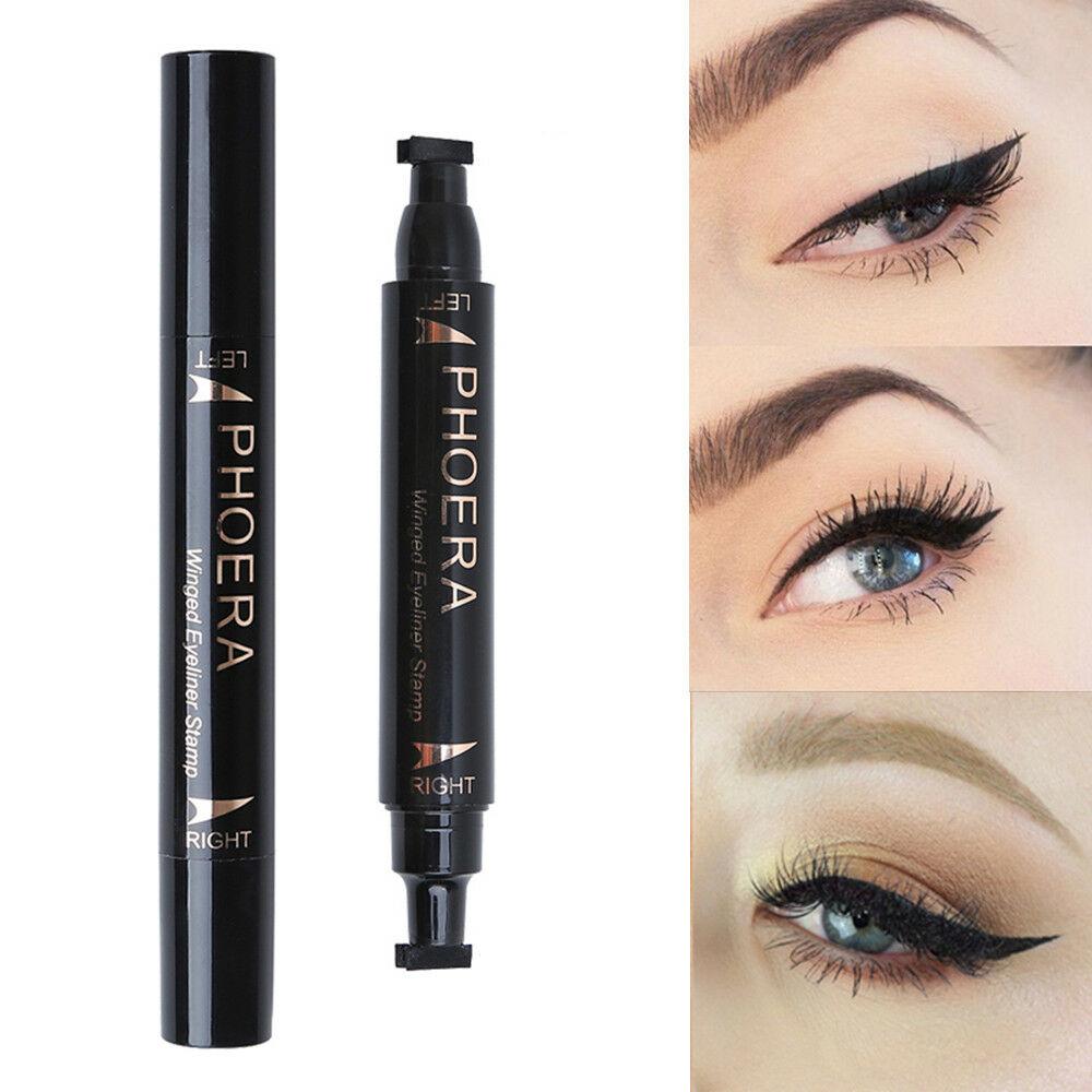 Winged Eye Makeup Waterproof Makeup Eyeliner Stamp Cat Eye Wing Stamp Ink Long Lasting